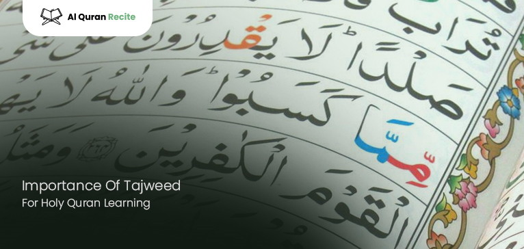 Importance Of Tajweed For Holy Quran Learning